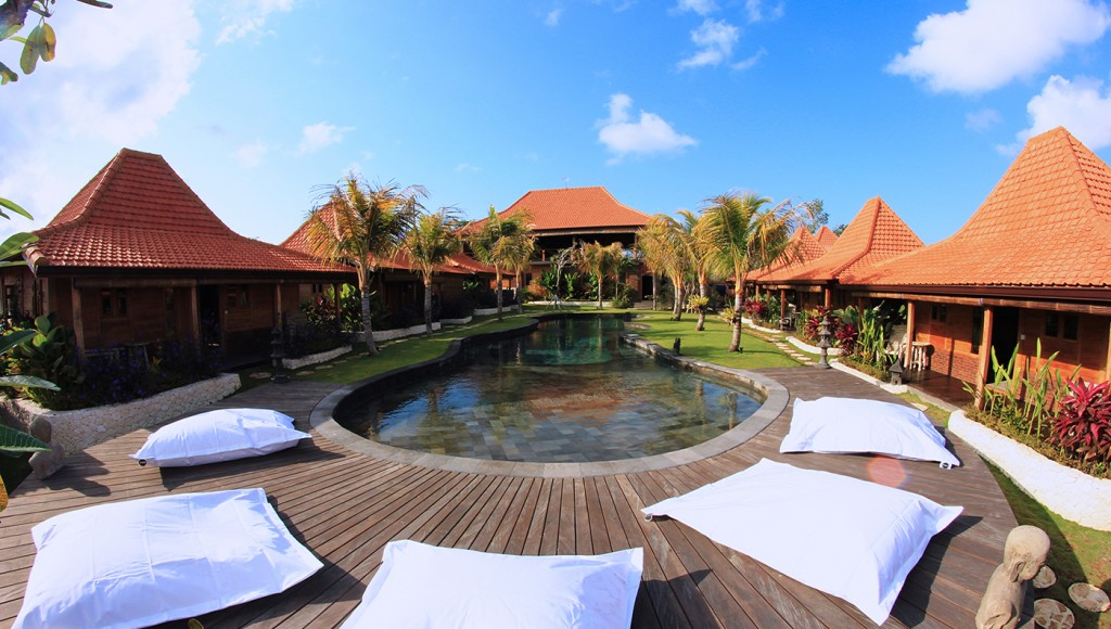 The Pool of Yoga Searcher Bali Uluwatu - Yoga Retreat