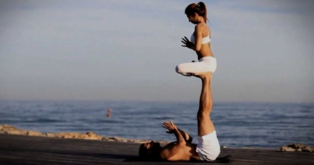 Acroyoga Pose - Yoga Searcher Bali